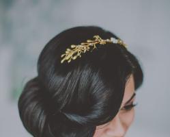 最美的新娘盘发LOOK 优雅浪漫气质唯美