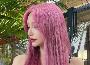 粉色染发正流行 换上一秒变美变白