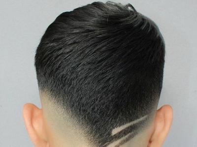 男生后面头发怎么剪 铲青短发清爽酷炫