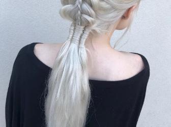 适合长头发的仙女编发 编个头发瞬间变女神