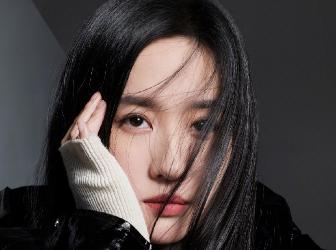 刘亦菲T杂志九月刊大片 酷飒黑长直高级感拉满