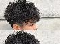 男生蓬松烫短发造型 时髦帅气拯救头发少