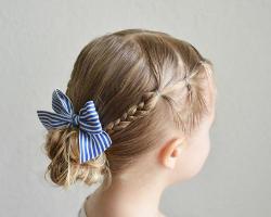 长发女孩怎么扎头发 小女孩漂亮扎发造型大全