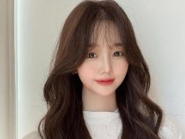 最好看的韩式长卷发 让你轻松瘦脸变美