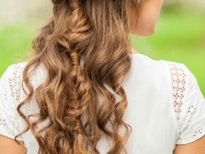 法式慵懒发型怎么扎 长发这么扎美到惊艳