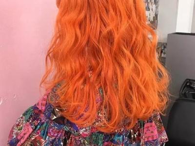 2021橘色系头发造型 跟着这么染时髦又吸睛