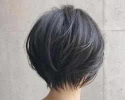 不用染发的短发发型 黑色短发低调又时尚