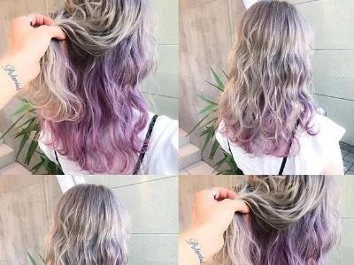 紫色染发颜色大全 酷炫紫色头发吸睛力爆棚