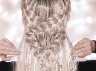 仙女扎发造型大盘点 时尚绝美扎发唯美浪漫
