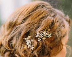 穿婚纱什么发型好看 优雅大气新娘盘发是首选