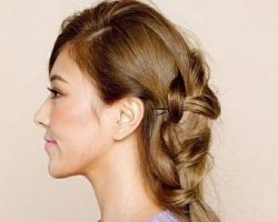 侧编发半扎发型教程 头发半扎气质唯美